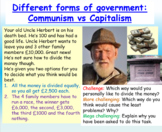 Communism vs Capitalism (Government + Global Politics)