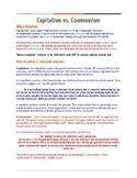 Communism vs. Capitalism Overview (Cold War)