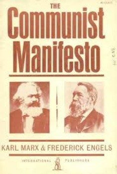 Communist Manifesto Worksheet