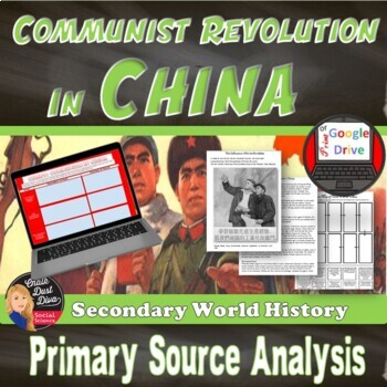 Communist Revolution in CHINA Cooperative and Source Analy