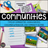 Communities, Goods and Services, Consumers and Producers | Print & Easel