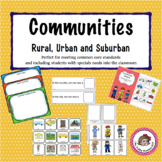 Communities - Learning About Rural, Urban and Suburban