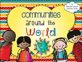 Communities Around The World {A Social Studies and Postcard Writing Unit}