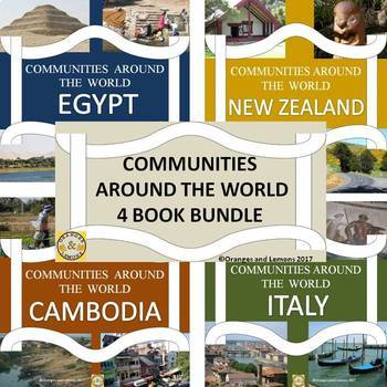 Communities Around the World 4 Book Bundle