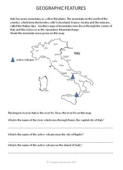 Communities Around the World - Italy (the study of a country and its people)