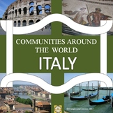 Communities Around the World - Italy (the study of a count
