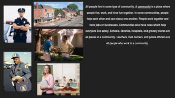 Communities, Chapter 1