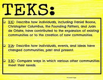 Communities & Christopher Columbus: Digital/Printable Versions