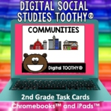 Communities Digital Social Studies Toothy® Task Cards | Di