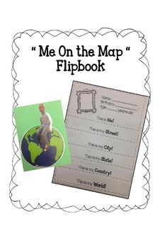 Communities Flip Book - Me on the Map