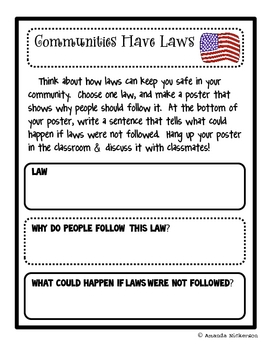 Communities Have Laws: A Poster Project
