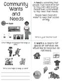 Communities Meet Needs Booklet EDITABLE