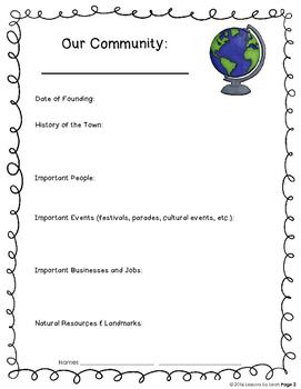 Communities Mini-Unit