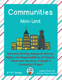 Communities Mini-Unit