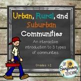 Communities PPT, Graphic Organizer & Foldable Bundle!