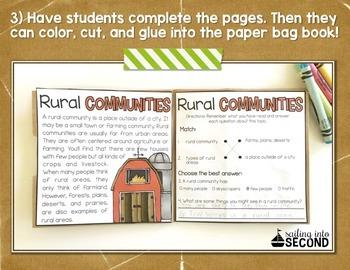 Communities Paper Bag Book