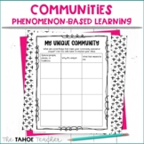 Communities Resources for Inquiry / Phenomenon-Based Learning