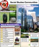 Communities - Rural and Urban Community PDF  93 Pages -Social Studies Grade 3