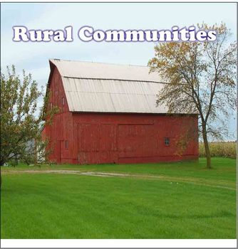 Communities - Rural and Urban Community PDF  93 Pages -Social Studies Grade 3