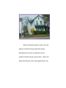 Communities Story with Questions for 2nd Grade Common Core ELA and SS
