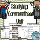 Communities Unit - Rural, Suburban and Urban