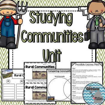 Communities Unit - Rural, Suburban and Urban