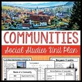 Communities Unit (3rd Grade Social Studies)