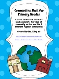 Communities Unit for Primary Grades