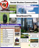 Communities - Urban & Rural Smartboard File Grade 3 Social Studies 60 Pages