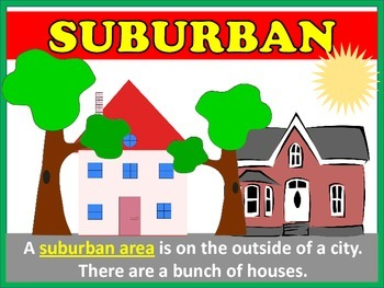 Communities (Urban, Suburban, and Rural)
