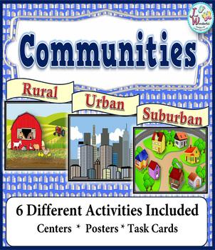 Communities - Rural Urban Suburban