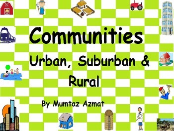 Geography: Communities Worksheets: