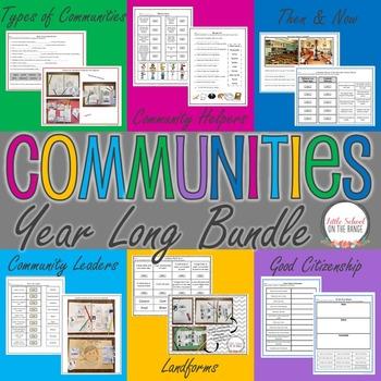 Communities Year Long BUNDLE
