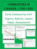 Communities in Canada, 1780-1850 Unit - ONTARIO