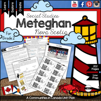 Communities in Canada BUNDLE Grade 2 Alberta Social Studies {all 3 units}