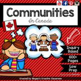 Grade 2 Social Studies Alberta {Communities in Canada: VALUE BUNDLE}