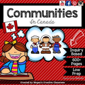 Communities in Canada BUNDLE Grade 2 Alberta Social Studie