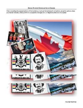 Communities in Canada Grade 6