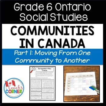 Communities in Canada Part 1 - Ontario Social Studies Grade 6