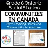 Communities in Canada Part 1 - Ontario Social Studies Grade 6