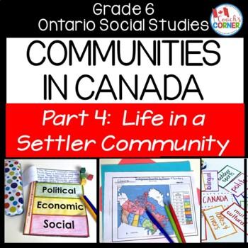 Communities in Canada Part 4 - Ontario Social Studies Grade 6