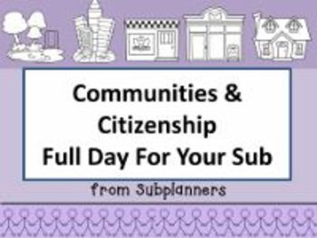 Communities and Citizenship -Common Core Aligned Full Day