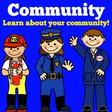 Community Helpers | Preschool Kindergarten 1st 2nd Grade P