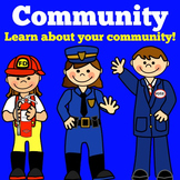 Community Helpers for Kindergarten |  First Grade