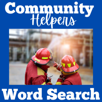 Community Helpers Activity | Community | Community Helpers Word Search