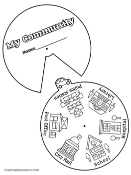 Community Helpers Craft | Community Helpers Activity | Community