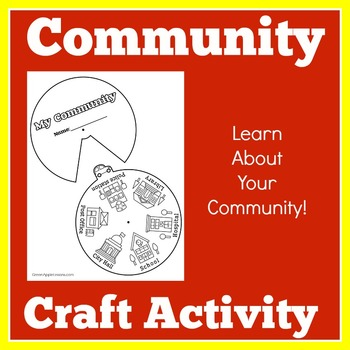 Community Helpers Craft | Community Helpers Activity | Community