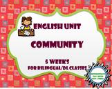 Community Bundle 5 Week Unit