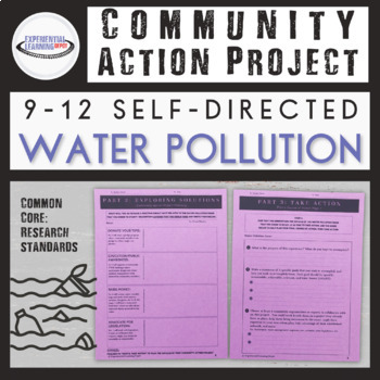 Community Action Project: Water Pollution