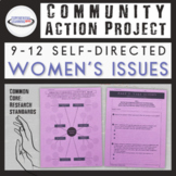 Community Action Project: Women's Issues